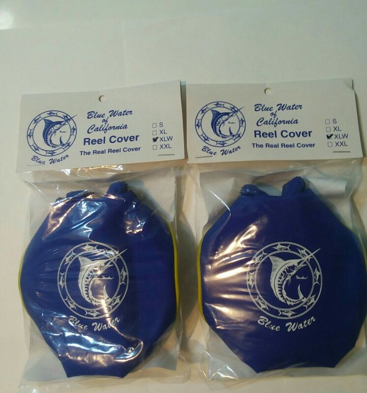 Reel cover by Bluewater. New. Set of two. Size XLW. Free shipping.