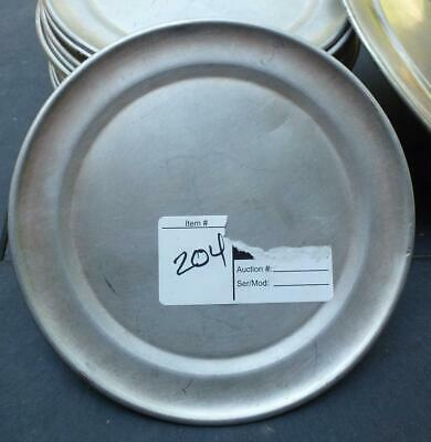 Aluminum Pizza Pan Tray 7 Cover Lid Serving Baking Oven Camping Plate