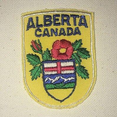 Alberta Canada Patch - Travel Souvenir