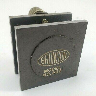 Vintage Machine Tooling Brunson Model No. 562 Magnetic Rulescale Mount 90 Deg