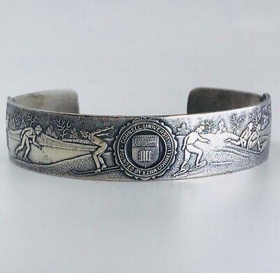 "Vintage 1910 Cornell University ""Winter Games"" Bracelet - Rare Antique"