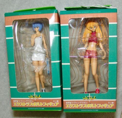 NEW Evangelion EXTRA SPORT SEGA/GAINAX 2005 REI & ASUKA Figure set, USA SELLER