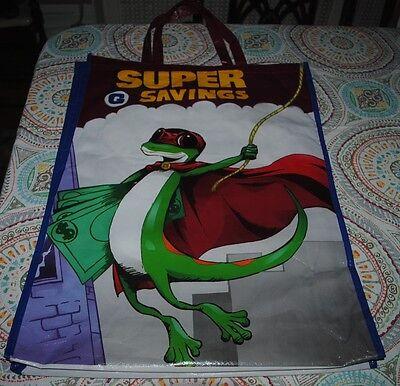 "NYCC 2015 Comic Con Superhero Super Gecko Geico Giant JUMBO Promo Bag 25"" 2 ft+"