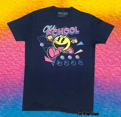 New Pac-Man Old School Classic Arcade Game Vintage Mens T-Shirt