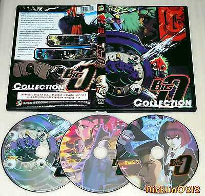 NEW The Big O I + II Complete 26 Episodes Collection DVD English Dubbing USA 1+2
