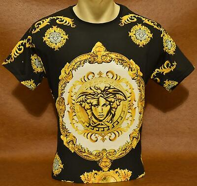 Brand New Men's VERSACE Slim Fit T-SHIRT Size M- L- XL