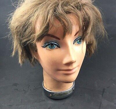 VTG Mid Century Kayser Practikin Cosmetology Practice Head Female Mannequin 60s