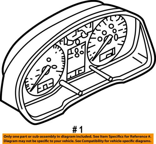 Vw Volkswagen Oem 02 05 Jetta Instrument Panel Dash Gauge Cluster