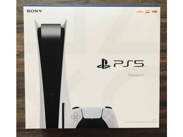 Brand New Unopened Sony PlayStation 5 PS5 Console Disc Version - IN HAND