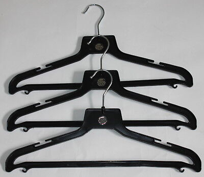 - RIP CURL Black Plastic Hanger for Wetsuit Wet Suit Surf Swim Jacket - Set of 3