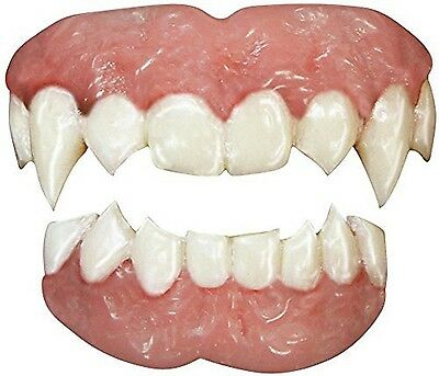 TINSLEY FX VAMPIRE TEETH ADULT ACCESSORY HALLOWEEN COSTUME SCARY SMILE REALISTIC