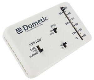 dometic thermostat rv trailer camper parts ebay. Black Bedroom Furniture Sets. Home Design Ideas