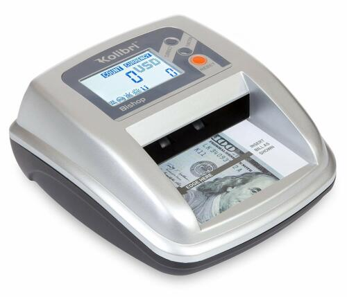Kolibri Bishop 2-in-1 Counterfeit Money Detector and Bill Counter with UV/MG/IR