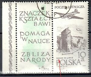 Poland 1959 - 65th anniv. of the Polish Phil. Sociiety - error Mi. 1101 - used - <span itemprop=availableAtOrFrom>Cieszyn, Polska</span> - Poland 1959 - 65th anniv. of the Polish Phil. Sociiety - error Mi. 1101 - used - Cieszyn, Polska