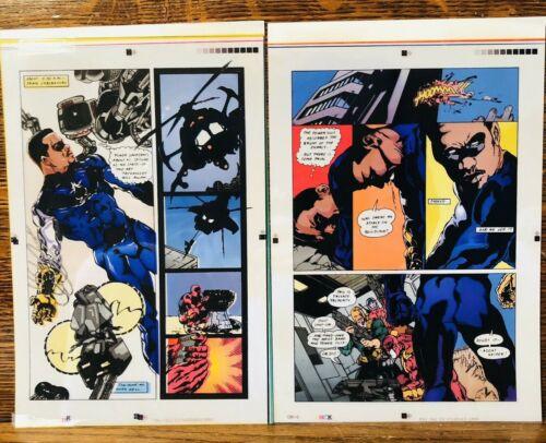ORIGINAL MAN #2 Complete! ALT ART rare ALONZO WASHINGTON 1993 color overlay 16pg