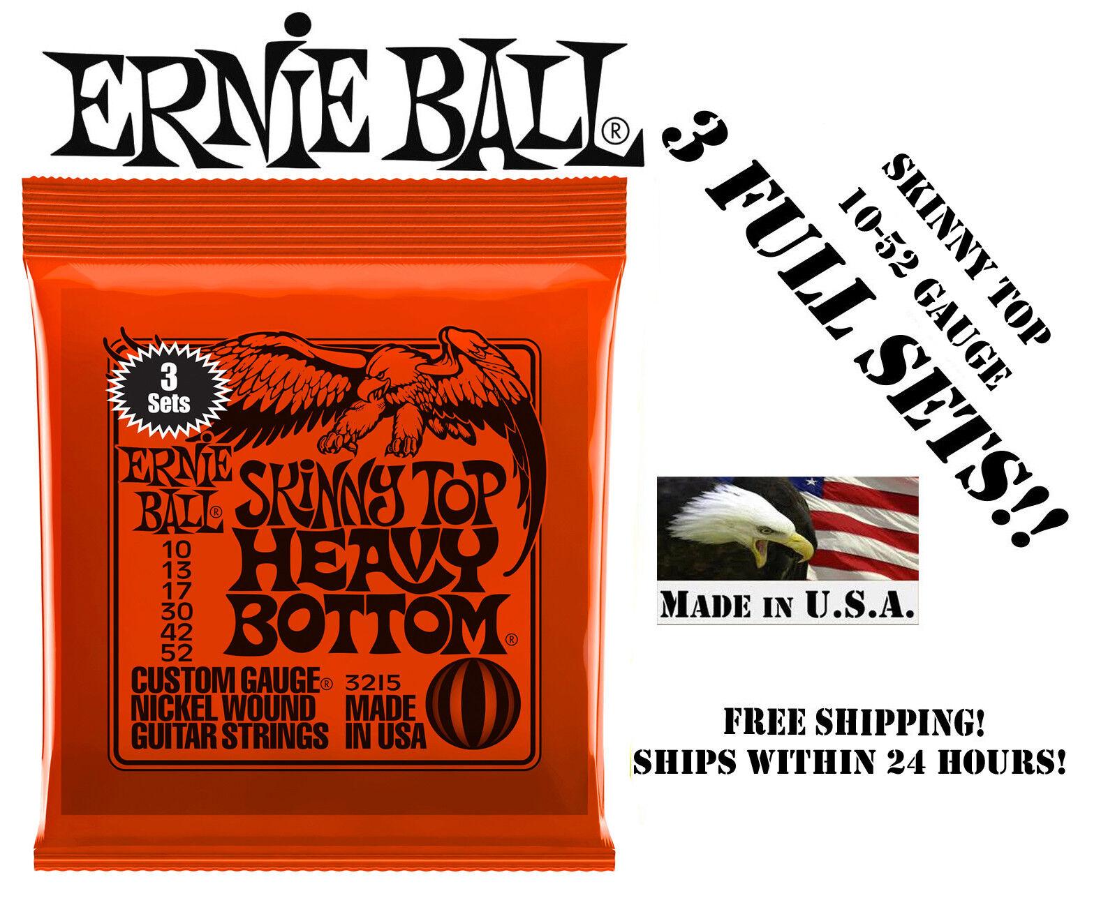 Ernie Ball Skinny Top Heavy Bottom Nickel Wound Set, .010 -