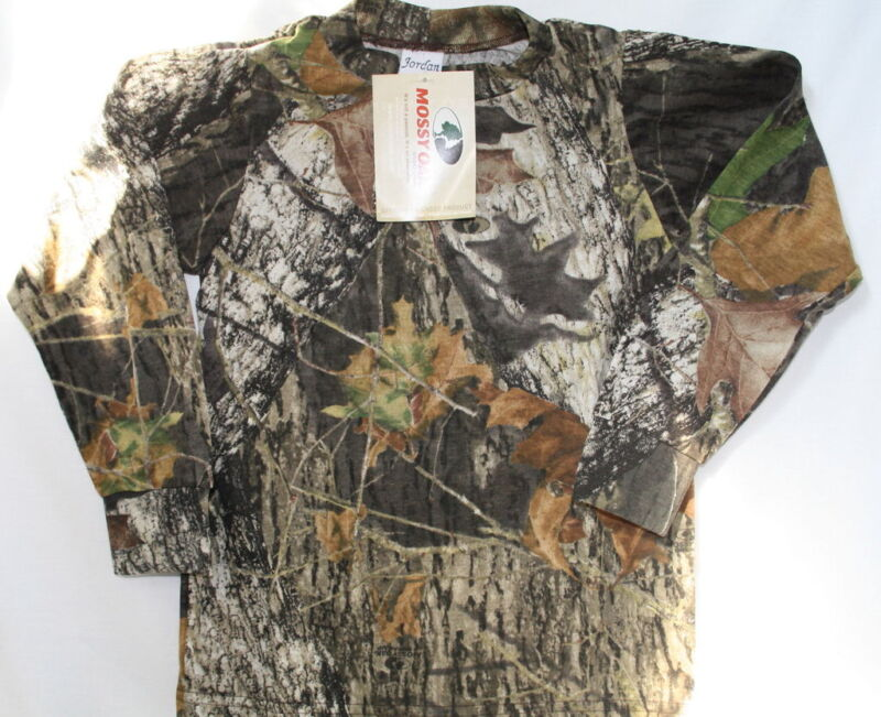 Mossy Oak Camo Toddler or Boys Shirt, Camouflage T-Shirt Long Sleeve Youth