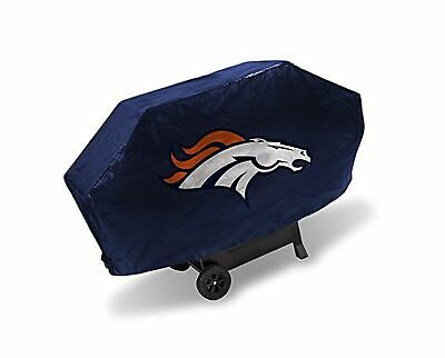 Denver Broncos Grill (Rico NFL Denver Broncos Deluxe heavy Duty Barbeque BBQ Grill Cover)