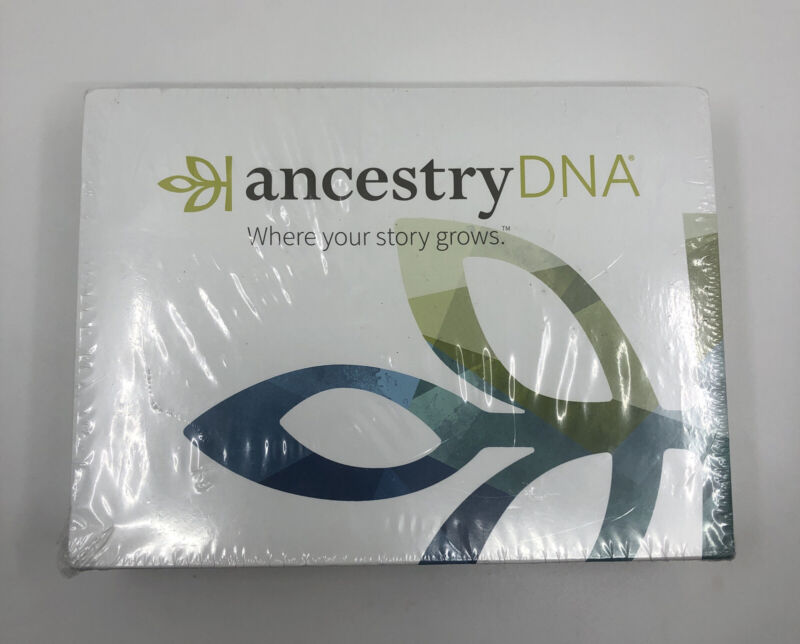 Ancestry DNA Activation Kit: All-In-One Kit Brand New Sealed in Package
