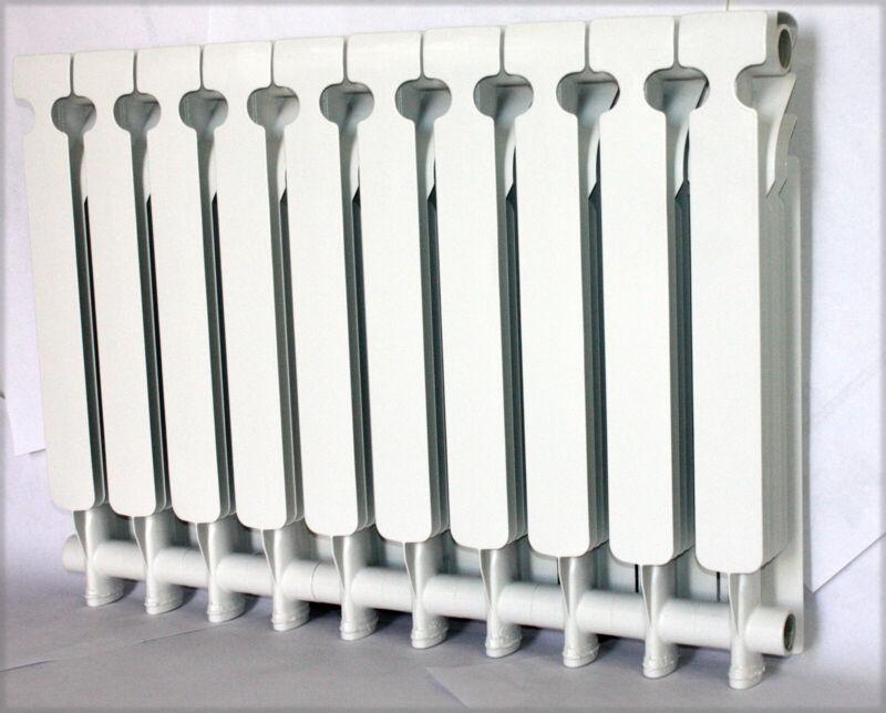 Bimetal Wall mount Hung Aluminum Heating Radiator Heater 10 section Greenhouse