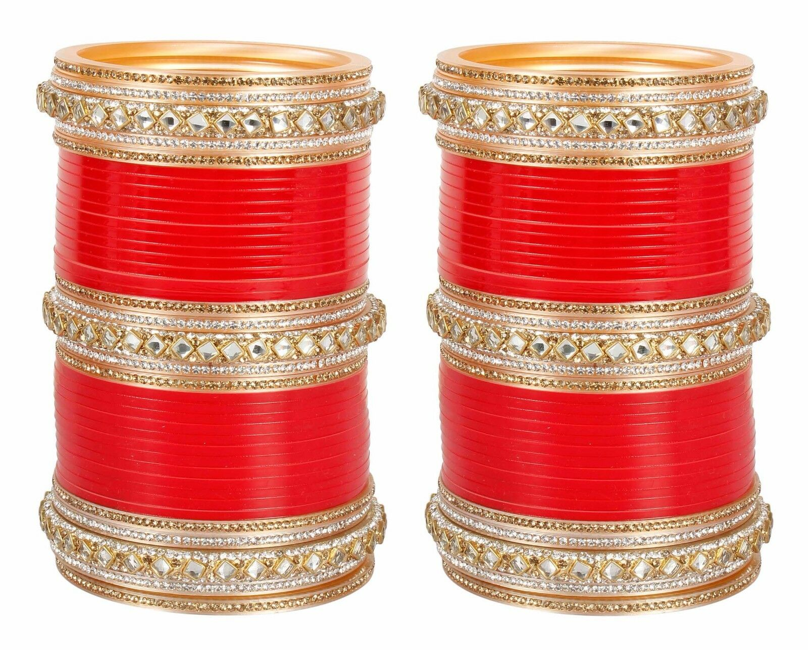 276 Wedding Bridal Chura Bangles Beautiful Stones Bollywo...