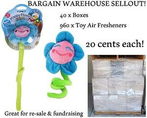 WAREHOUSE SELLOUT PALLET STOCK SALE 960 X AIR FRESHENER TOYS NEW Redcliffe Redcliffe Area Preview