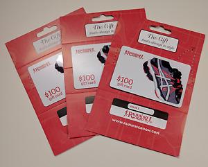 $300 Worth Of Running Room Gift Cards