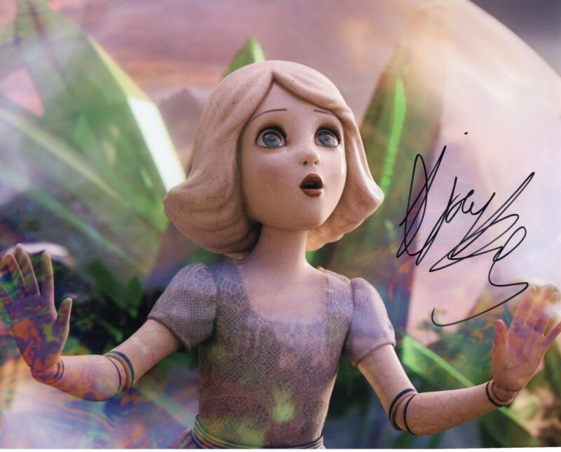 Joey King Oz The Great and Powerful China Girl Signed 8x10 Photo w/COA #3