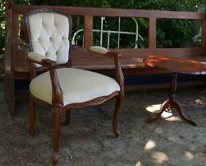 French Style Arm Chair ,other chairs and vintage items Martin Gosnells Area Preview
