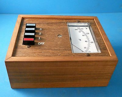 Pak-tronics Model 1703 Electronic Thermometer Vintage Test Equipment