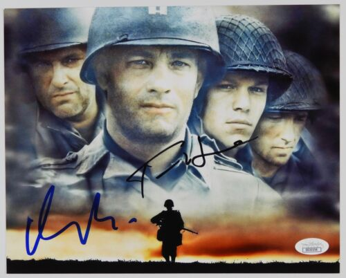 Tom Hanks Matt Damon JSA Saving Private Ryan Autograph Signed Photo 8 x 10