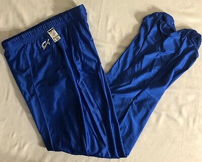 GK ELITE MENS LARGE ROYAL STIRRUP PANTS GYMNASTICS COMPETITION AL NWT!