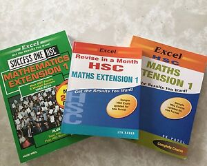 HSC Extension 1 Mathematics Textbooks Dapto Wollongong Area Preview