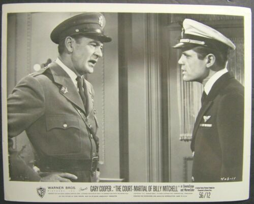 Gary Cooper, Jack Lord, The Court Martial of Billy Mitchell, 408-11, original