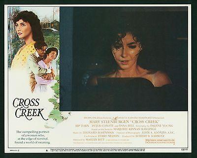 Cross Creek ORIGINAL Lobby Card 1983 Mary Steenburgen Universal Drama-Romance