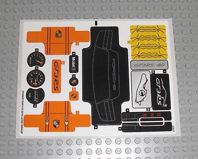 LEGO Technic 42056 Porsche 911 GT3 RS - AUFKLEBER / STICKER Technik Decals