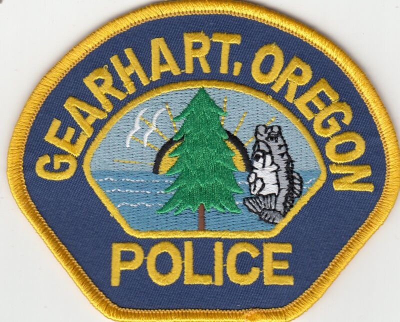 GEARHART OREGON POLICE SHOULDER PATCH OR