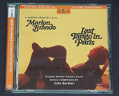 Last Tango in Paris Soundtrack Film by Gato Barbieri (CD, Rykodisc) Score (Gato Barbieri Last Tango In Paris Tango)