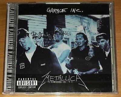 Metallica - Garage Inc. 2-CD (Thrash Metal) MEGADETH ANTHRAX SLAYER OVERKILL