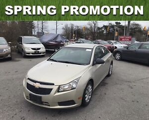 2011 Chevrolet Cruze LS. ~AUTOMATIC, LOADED, FULLY CERTIFIED~