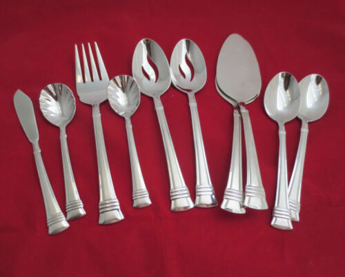 Wallace Zenith Frost 18/10 Stainless Flatware ~ Your Choice ~ Excellent Cond.