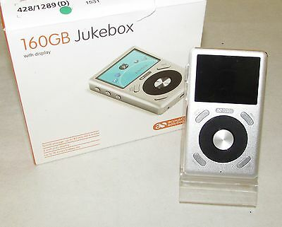 Acoustic Solutions 160GB MP3 Player - Silver CMP3160 IP1140