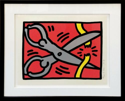 "Keith Haring ""pop Shop Iii (2)"" 1989 
