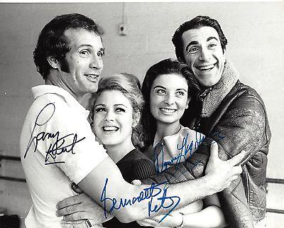 """Bernadette Peters (Signed) """"LA STRADA"""" Larry Kert '69 FLOP Rehearsal Press Photo"""