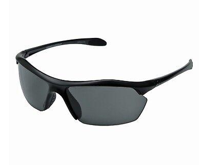 New $80 Under Armour UA Zone XL Sport Sunglasses Satin Black Gray 8600010-4700