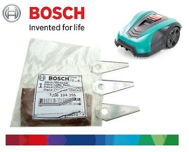 Genuine Bosch Indego Robotic lawnmower blades F016104255  set & 3. blades screws