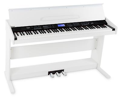 88-Tasten Digital E-Piano Beginner Home Keyboard Klavier 3-Pedale USB Weiß