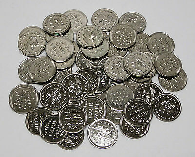 """Lot of 50 """"No Cash Value"""" Eagle Tokens In Nice Condition!"""