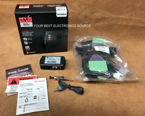 NEW Fortin EVO-NIST4 Remote Start System For Select Nissan & Infiniti Cars