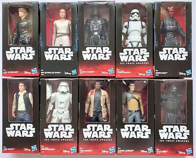 "HASBRO STAR WARS 6"" Figures, Rebels, Star Killer Base, TFA, New Hope, Discounts"